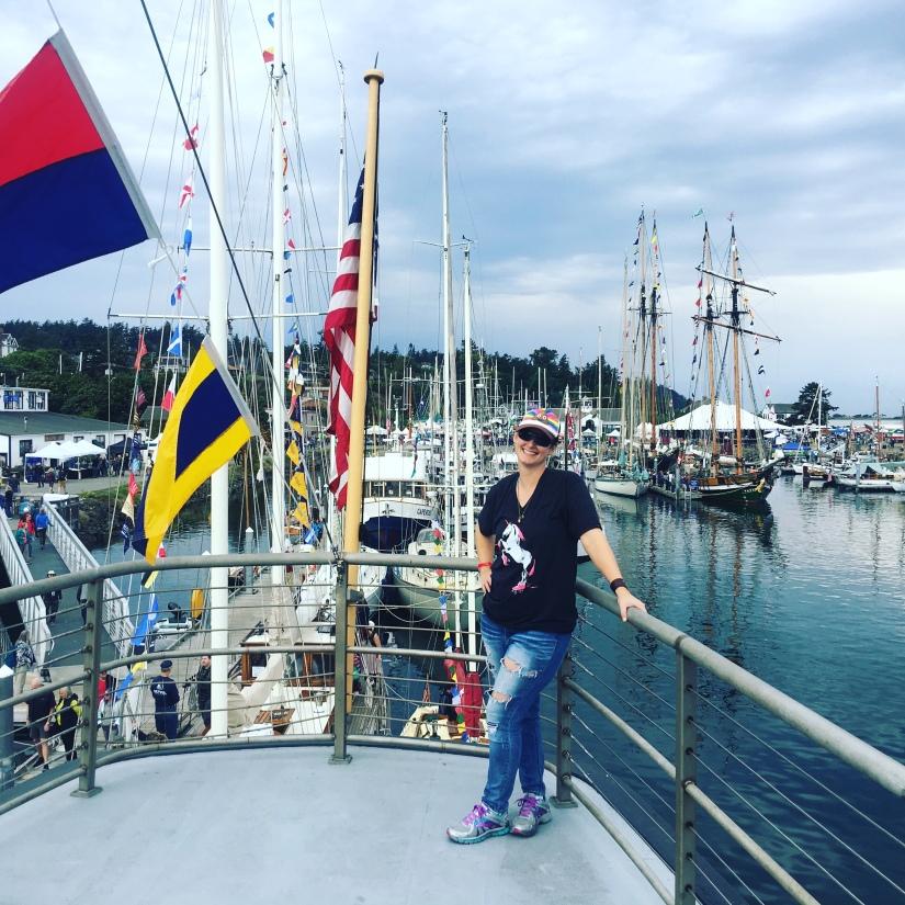 Port Townsend Wooden Boat Festival 2018 Skipper Jenn